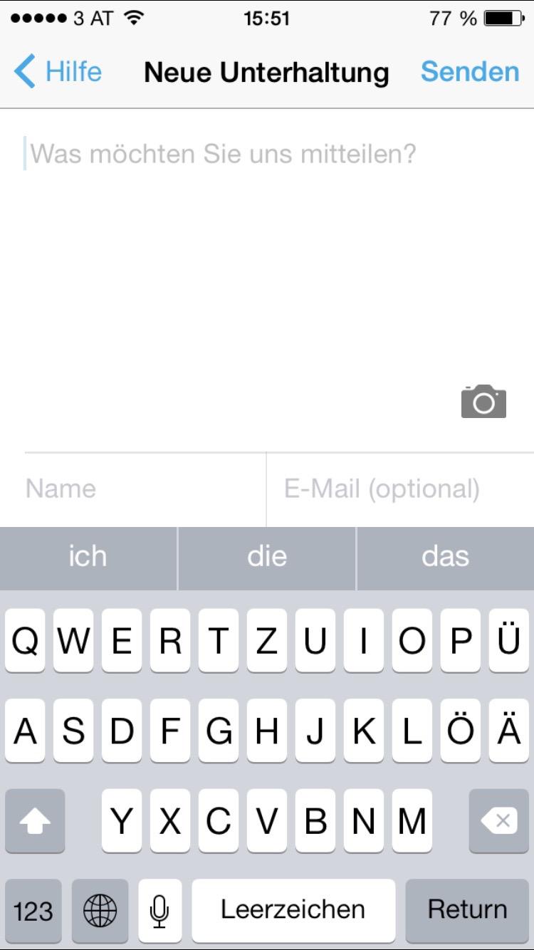 kontakte von android auf ios österreich